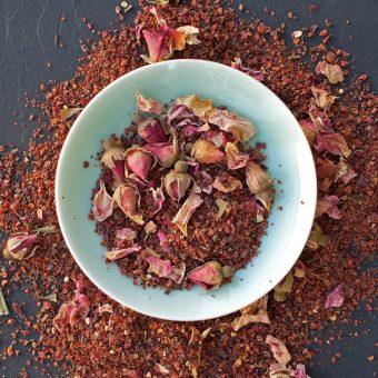 Jilly's Fine Leaf Tea Rosehip and Rose