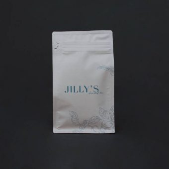 Jilly's Fine Leaf Tea Small Warm Cream Bag