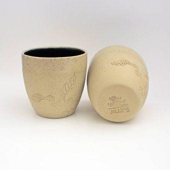 Jilly's Fine Leaf Tea 6oz Ceramic Cup