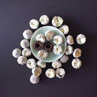 Jilly's Fine Leaf Tea Pu-erh Mini Tuo Cha